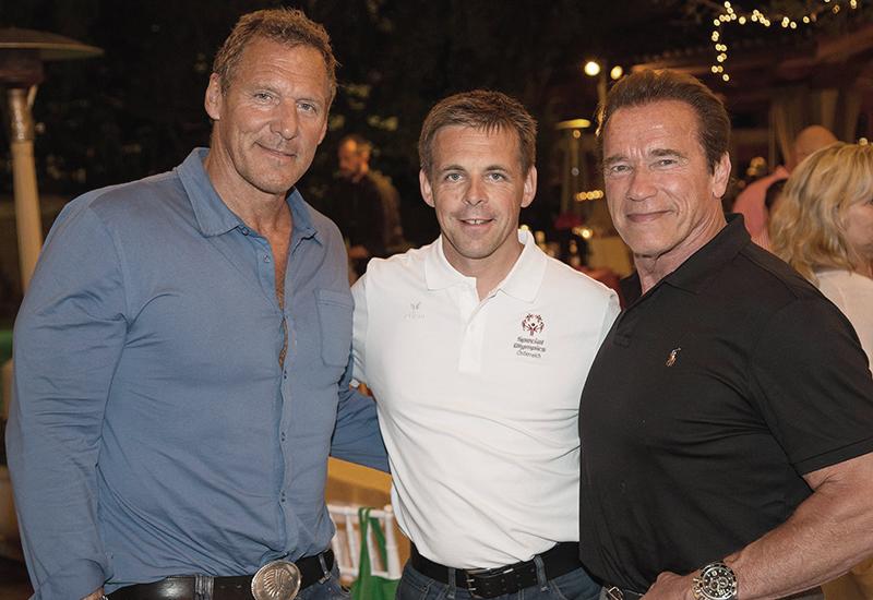 Fotograf Harald Steiner aus Schladming im Bild mit Arnold Schwarzenegger